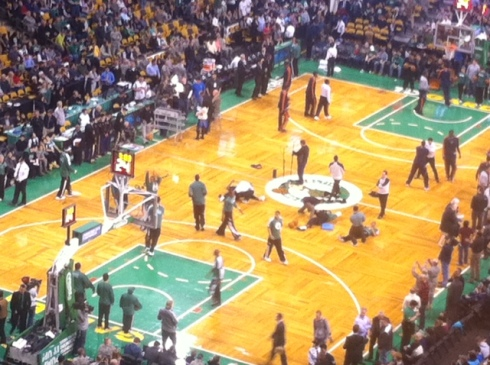 celtics game, the promise 365, jamie eslinger